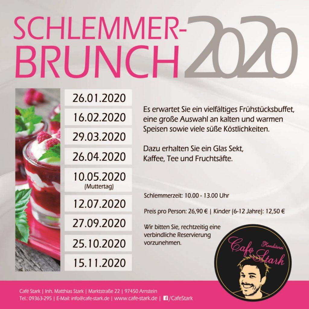 Schlemmer-Brunch 2020 Termine