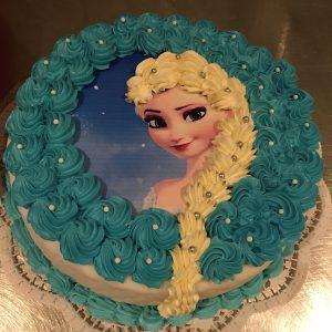 Frozen - die Eiskönigin Torte
